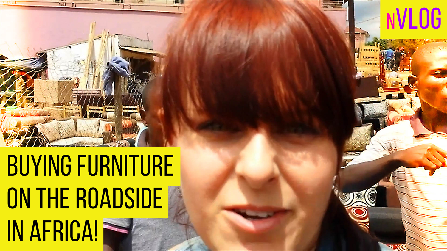Apartment Tour & Buying Furniture on the Street in Africa
