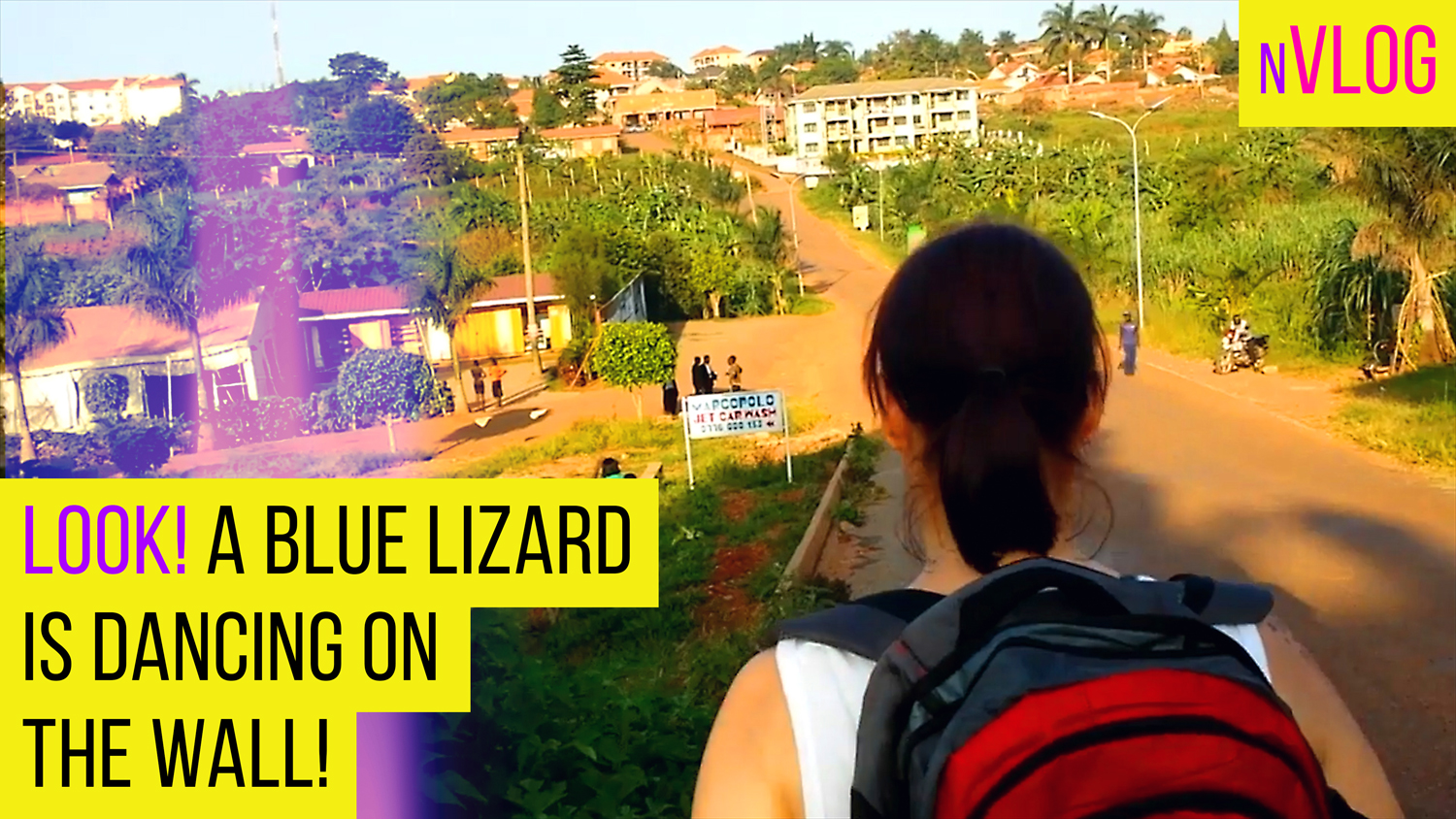 Lizards Dance & Boys Fight on the way to the mall in Kampala Uganda. #vlog #africa