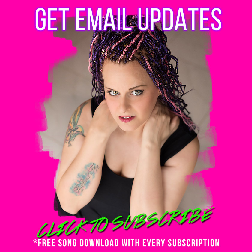 Get email updates from Natalie Brown and get a free Mp3 download